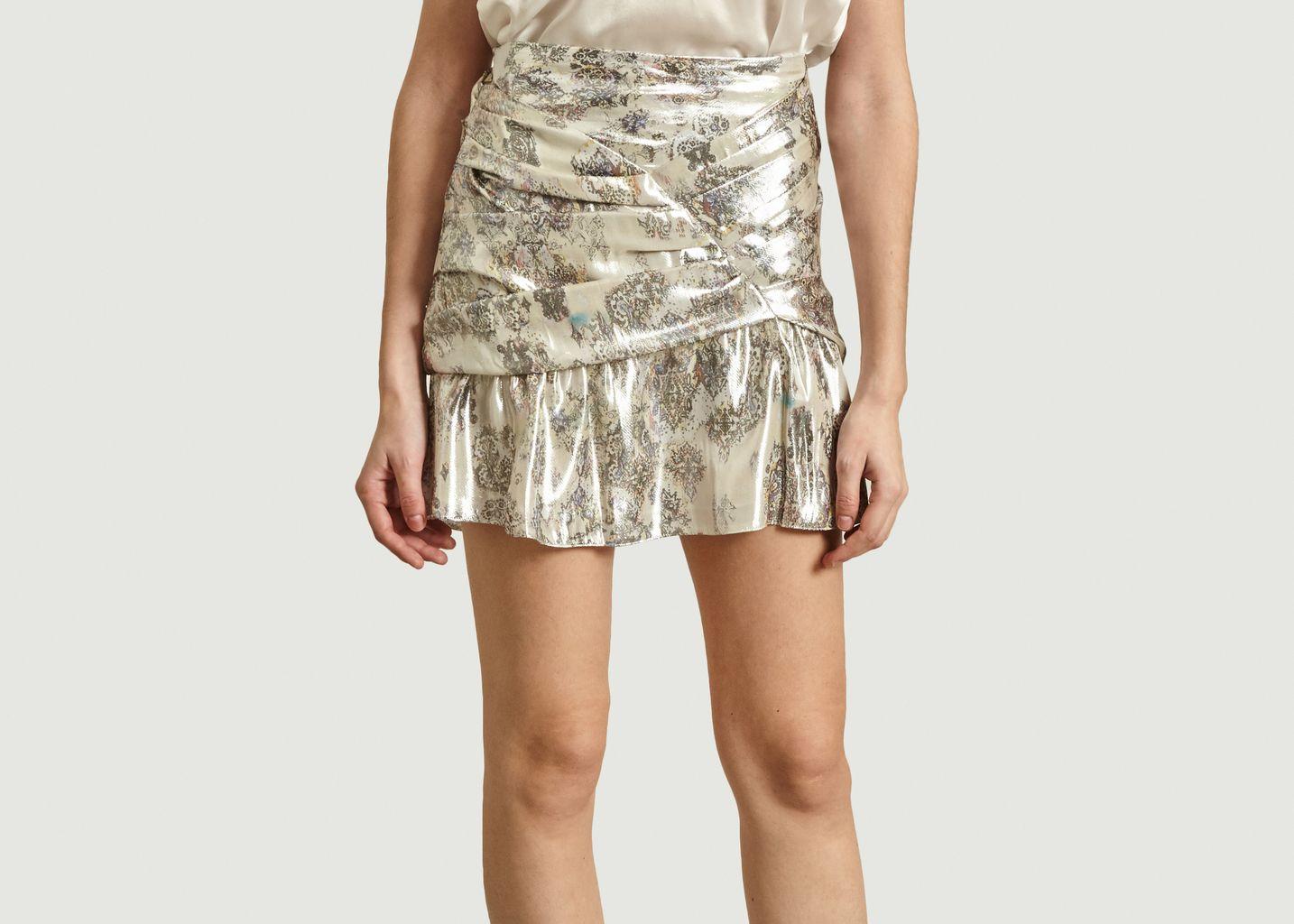 Mini jupe lamée Carila  - IRO