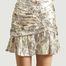 matière Mini jupe lamée Carila  - IRO