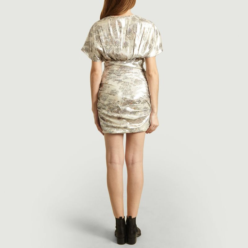 Robe courte lamée Mimeta - IRO