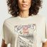 matière T-shirt imprimé Lynx  - IRO