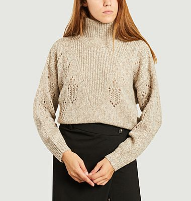 Pull col montant Adyna