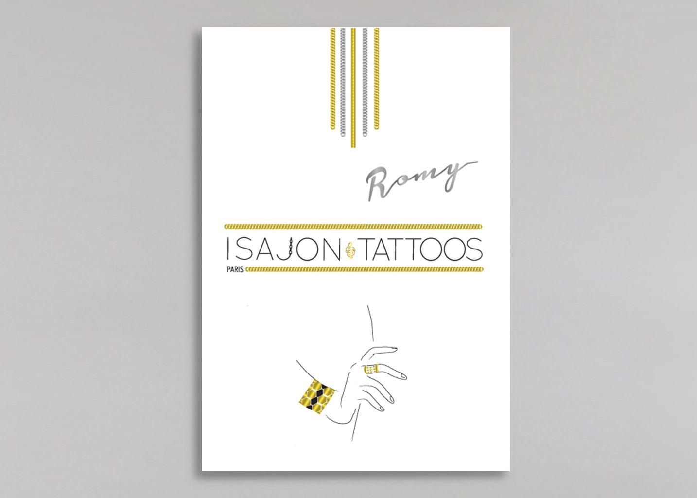 Tattoo Romy - Isajon