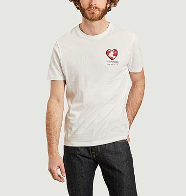 T-shirt One imprimé coeur