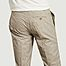 matière Pantalon à pinces Prince de galles 7/8eme - JagVi