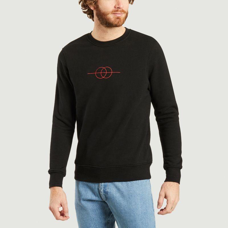 Sweatshirt avec logo brodé - JagVi