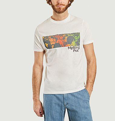 T-shirt en coton pima japonais bio Melting Pot