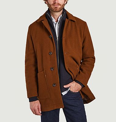 Mid-length coat