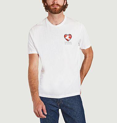 T-shirt cœur