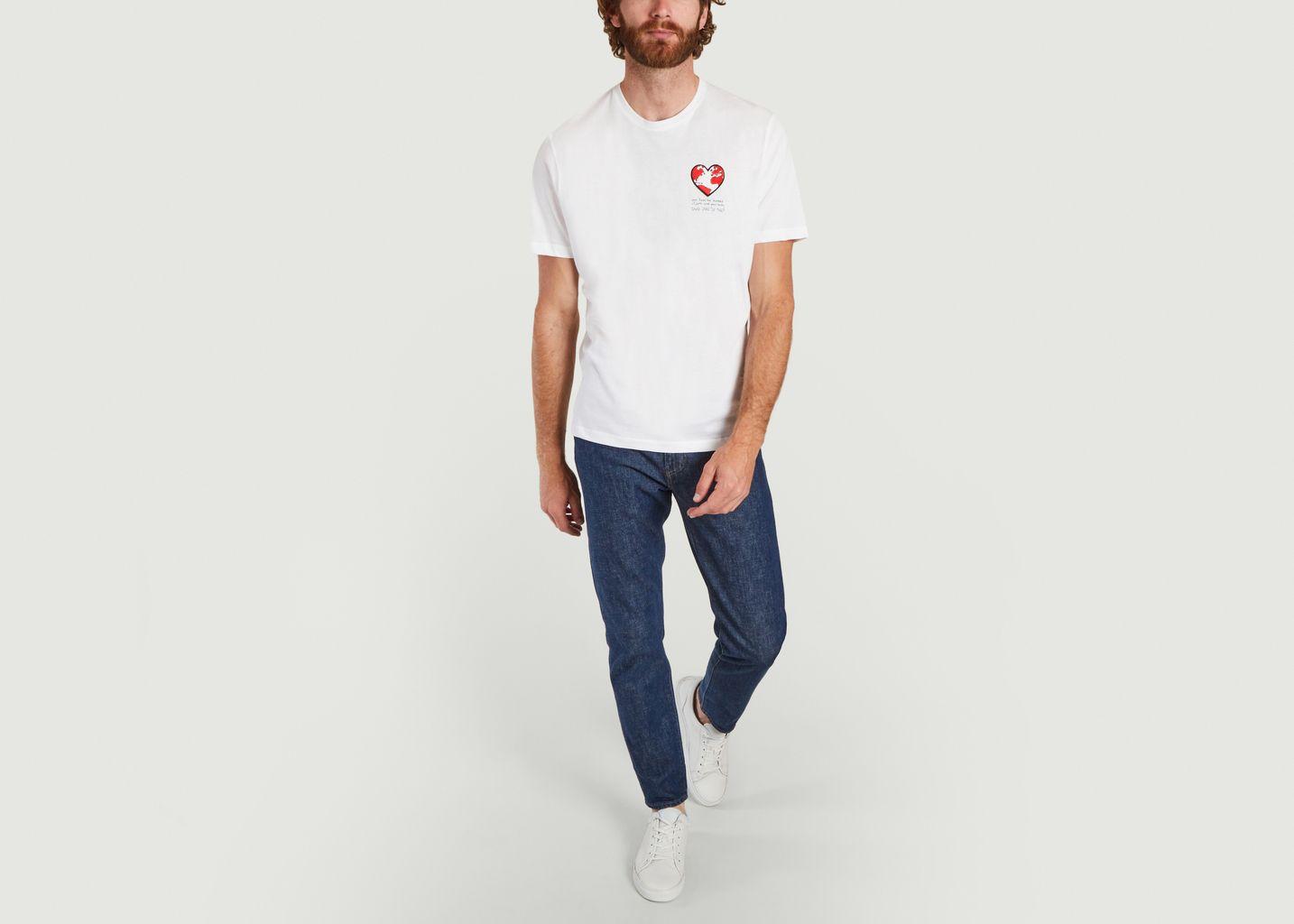 T-shirt cœur - JagVi
