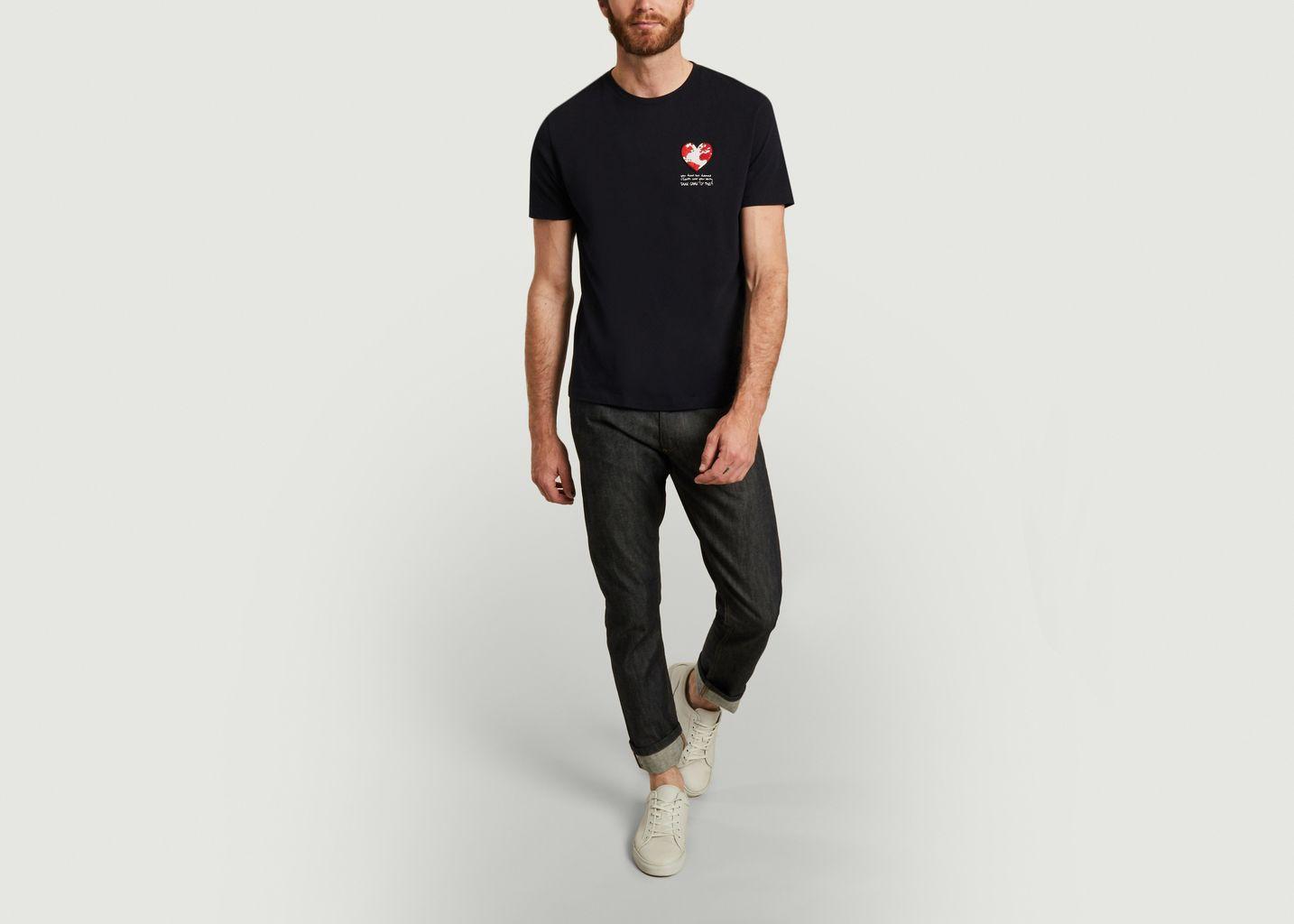T-shirt coeur - JagVi