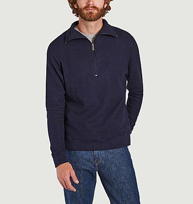 Sweatshirt japonais zippé