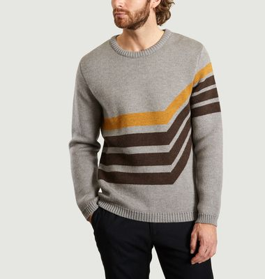 Track Knit Sweater
