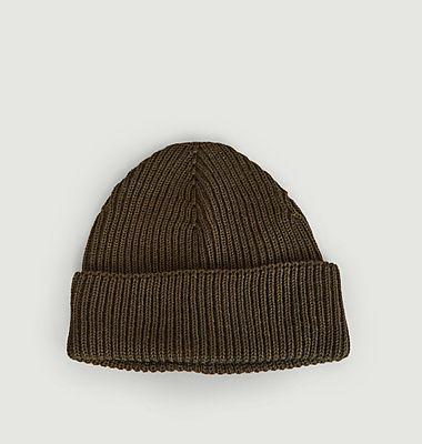 Große Mütze aus Merinowolle