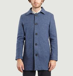 Long Manteau en Laine