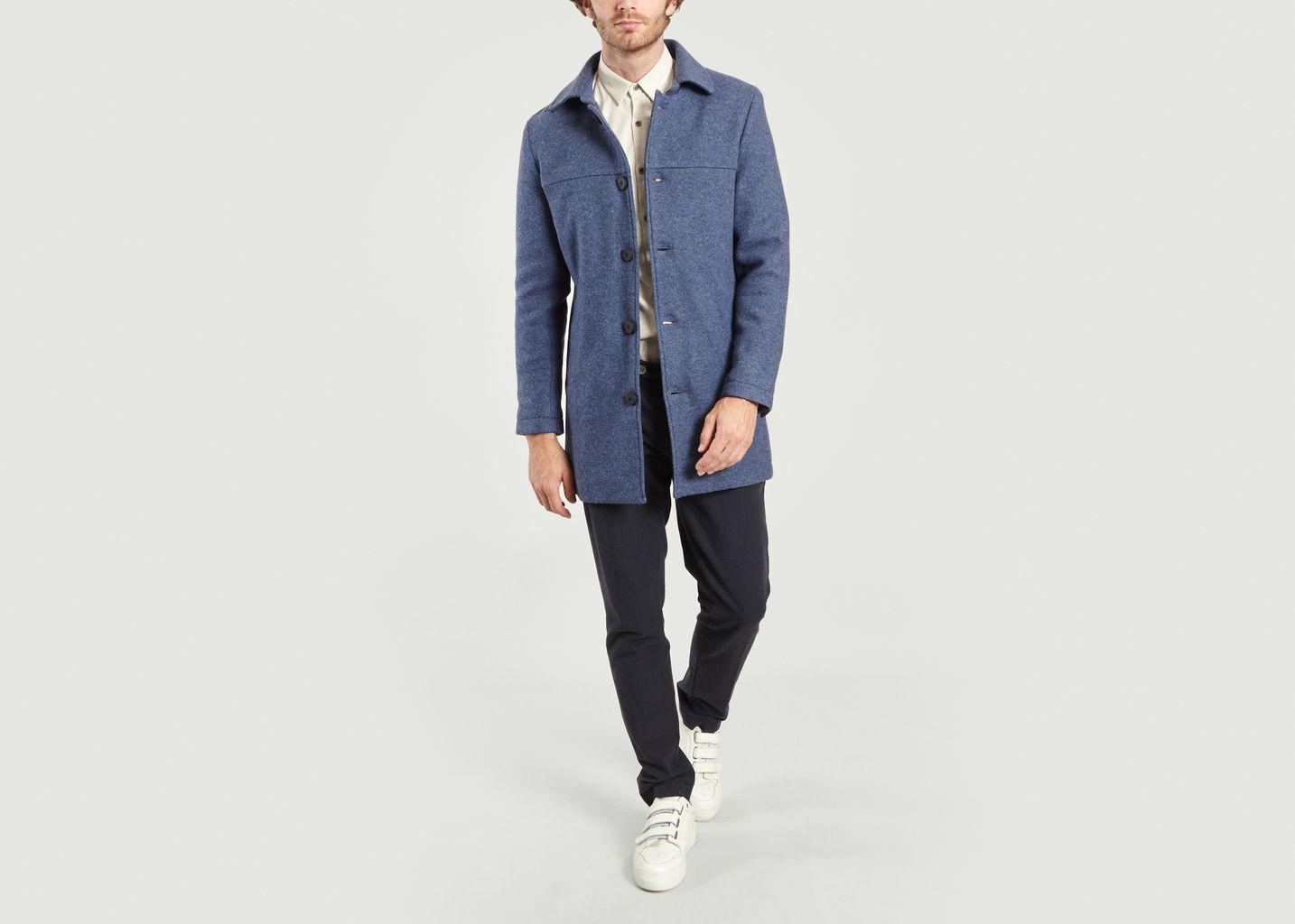 Long Manteau en Laine - JagVi