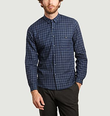 Check shirt with pocket