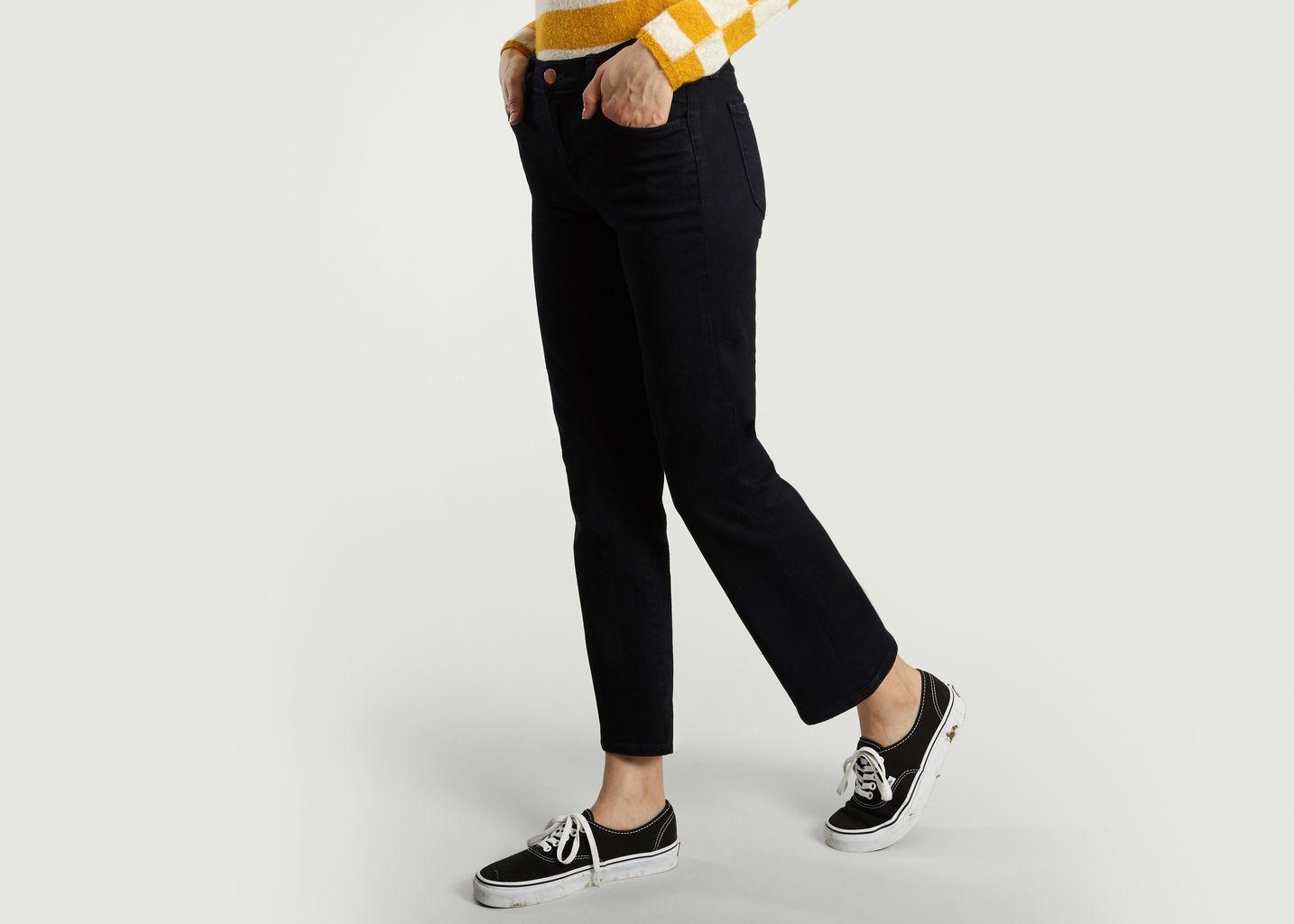 Jean Selena Mid Rise Crop Bootcut - J Brand