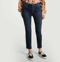 Jean Crop Maude High Rise Cigarette