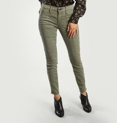 Jean Utility Mid Rise Skinny