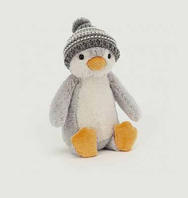 Peluche Bashful Bobble Hat Penguin