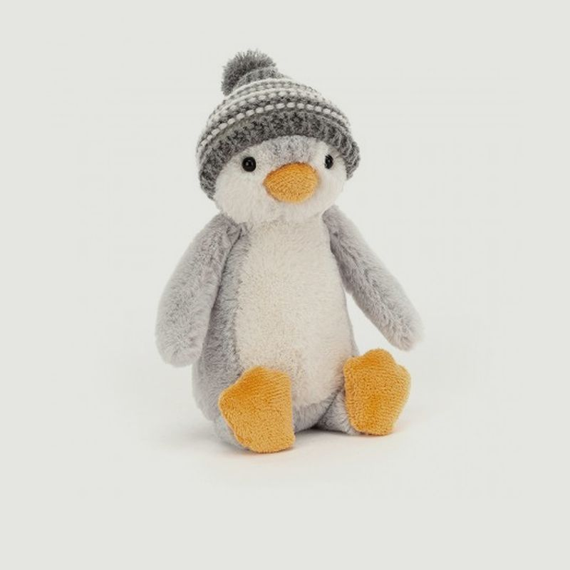 Peluche Bashful Bobble Hat Penguin - Jellycat