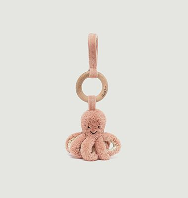 Odell Octopus Wooden Ring