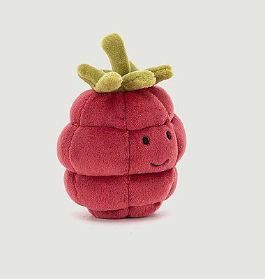 Peluche Fruit Fabuleux Framboise
