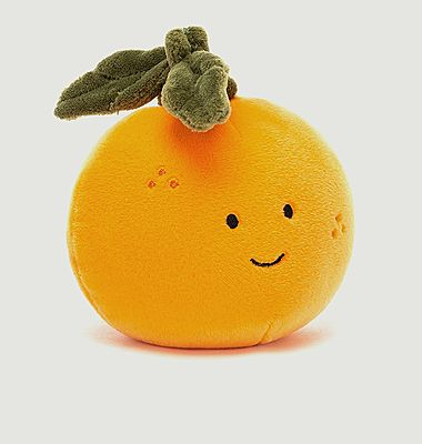 Peluche Fruit Fabuleux Orange