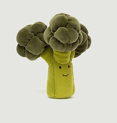 Vivacious Vegetable Broccoli Plush
