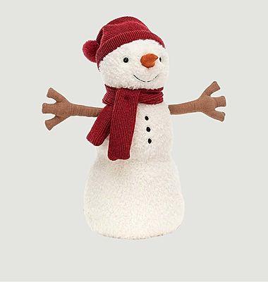 Peluche bonhomme de neige