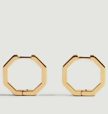 Boucles d'Oreilles Octogone M