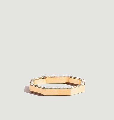 Bague Octogone Diamant 3