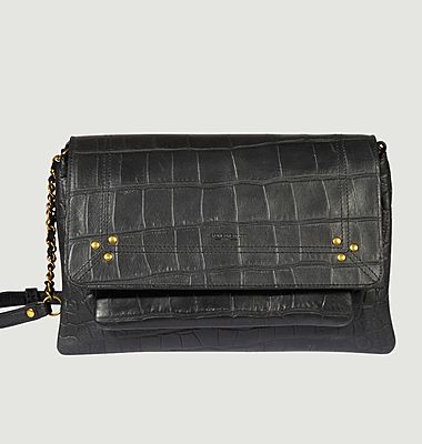 Charly M croco effect leather bag