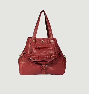 Billy M bubble leather bag