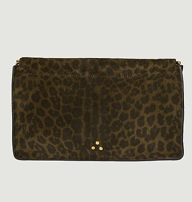 Pochette Clic Clac léopard L