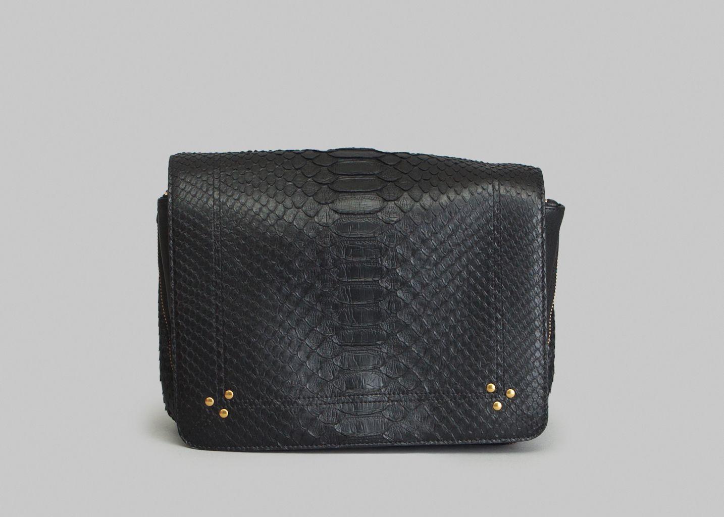 Igor Python Bag Black Jérôme Dreyfuss  43865e4d71597