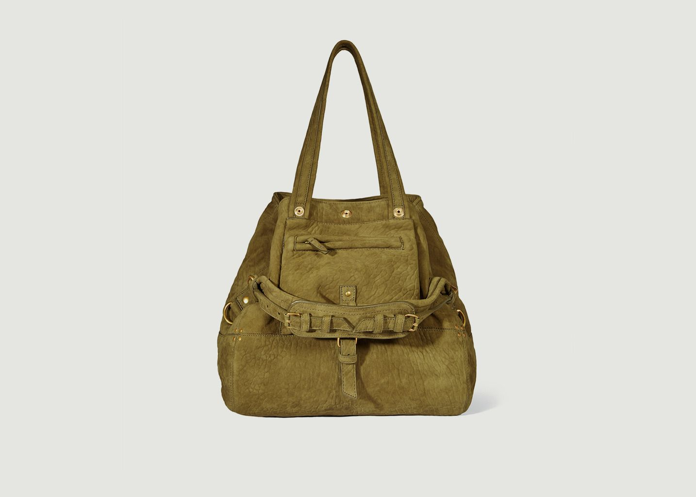 L'exception Jérôme Dreyfuss Cuir En Sac Bubble M Khaki Billy Pqw8vPOxHF