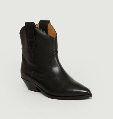 Sabine Leather Boots