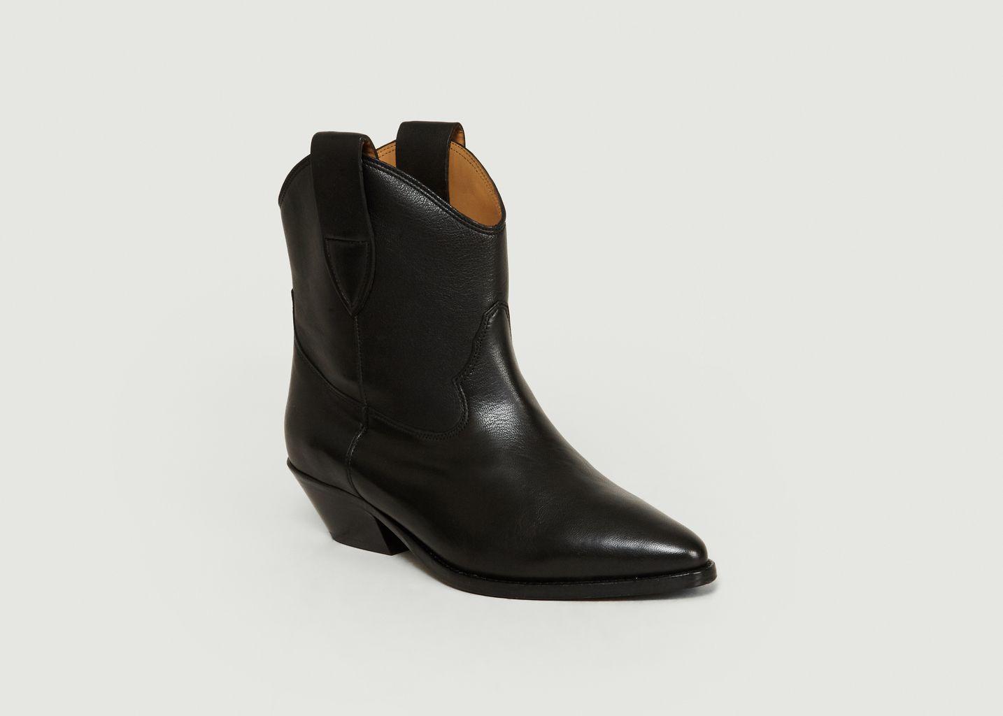Boots Sabine en Cuir Lisse - Jérôme Dreyfuss