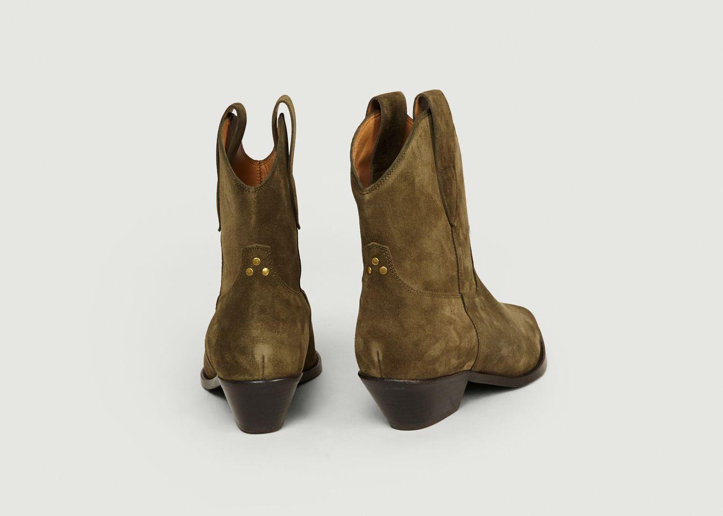Boots En Croûte de Cuir Sabine - Jérôme Dreyfuss