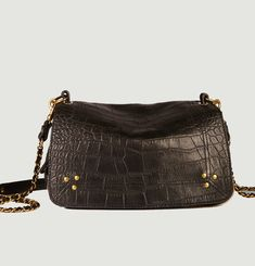 Bobi Croco Effect Leather Bag
