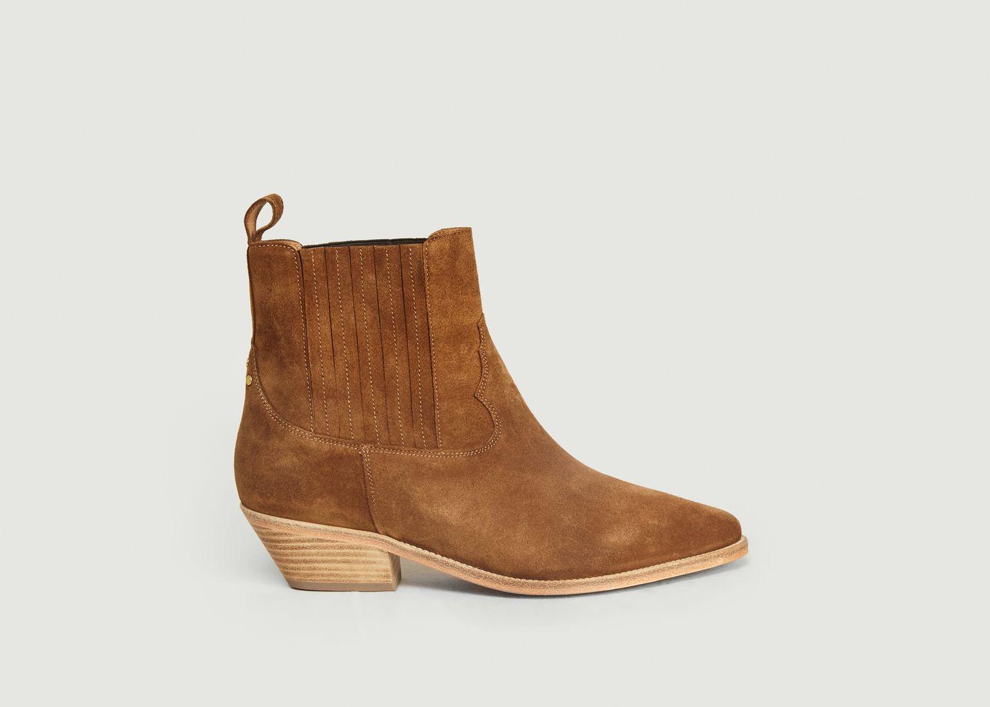 Boots en Cuir Suédé Edith - Jérôme Dreyfuss