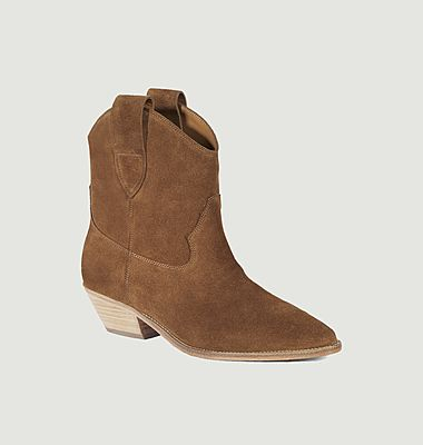 Sabine suede leather boots