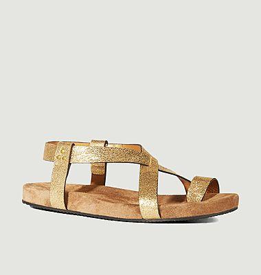 Sandales en cuir Ingrid
