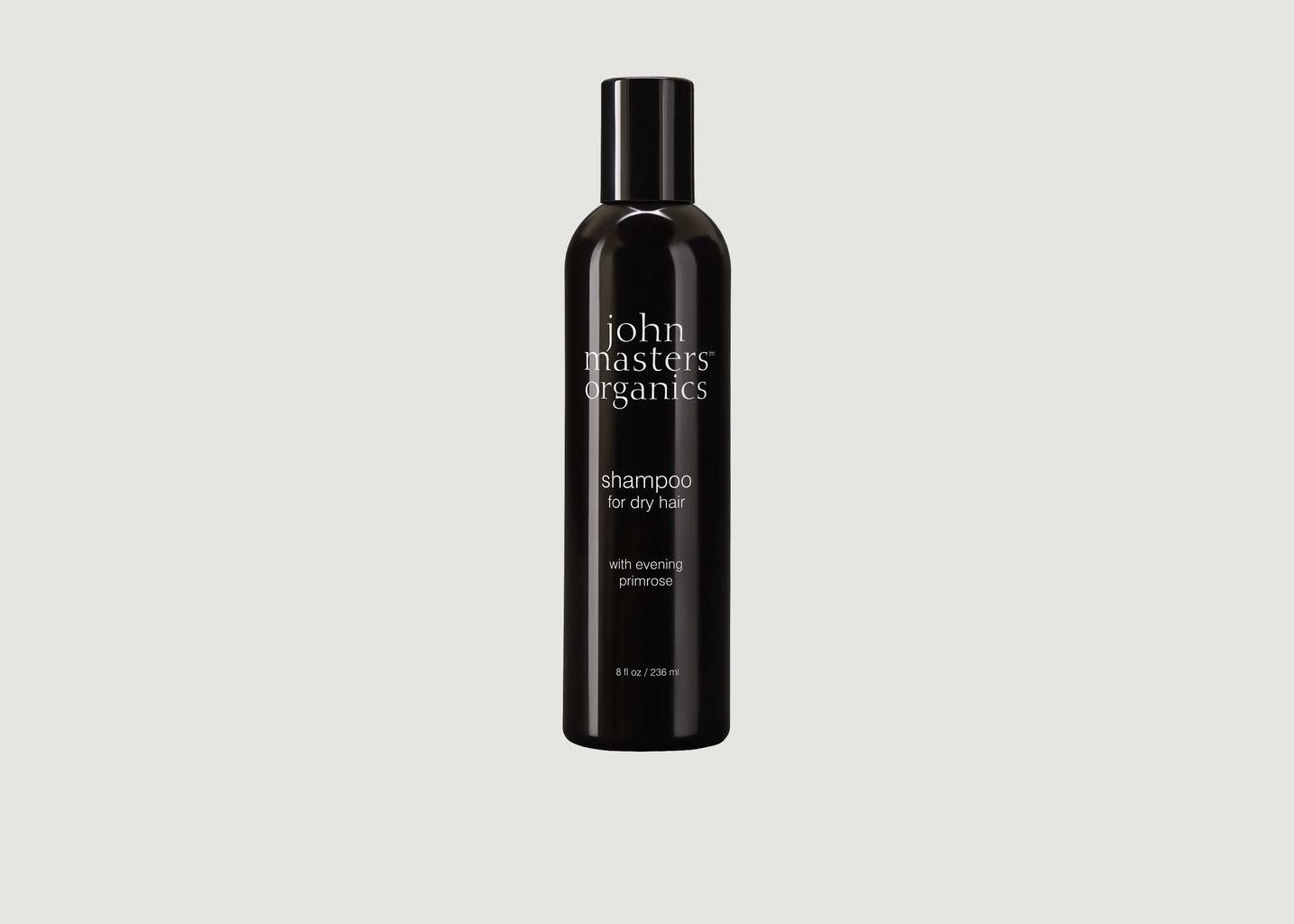 Shampoing pour cheveux secs à l'huile d'onagre - John Masters Organics