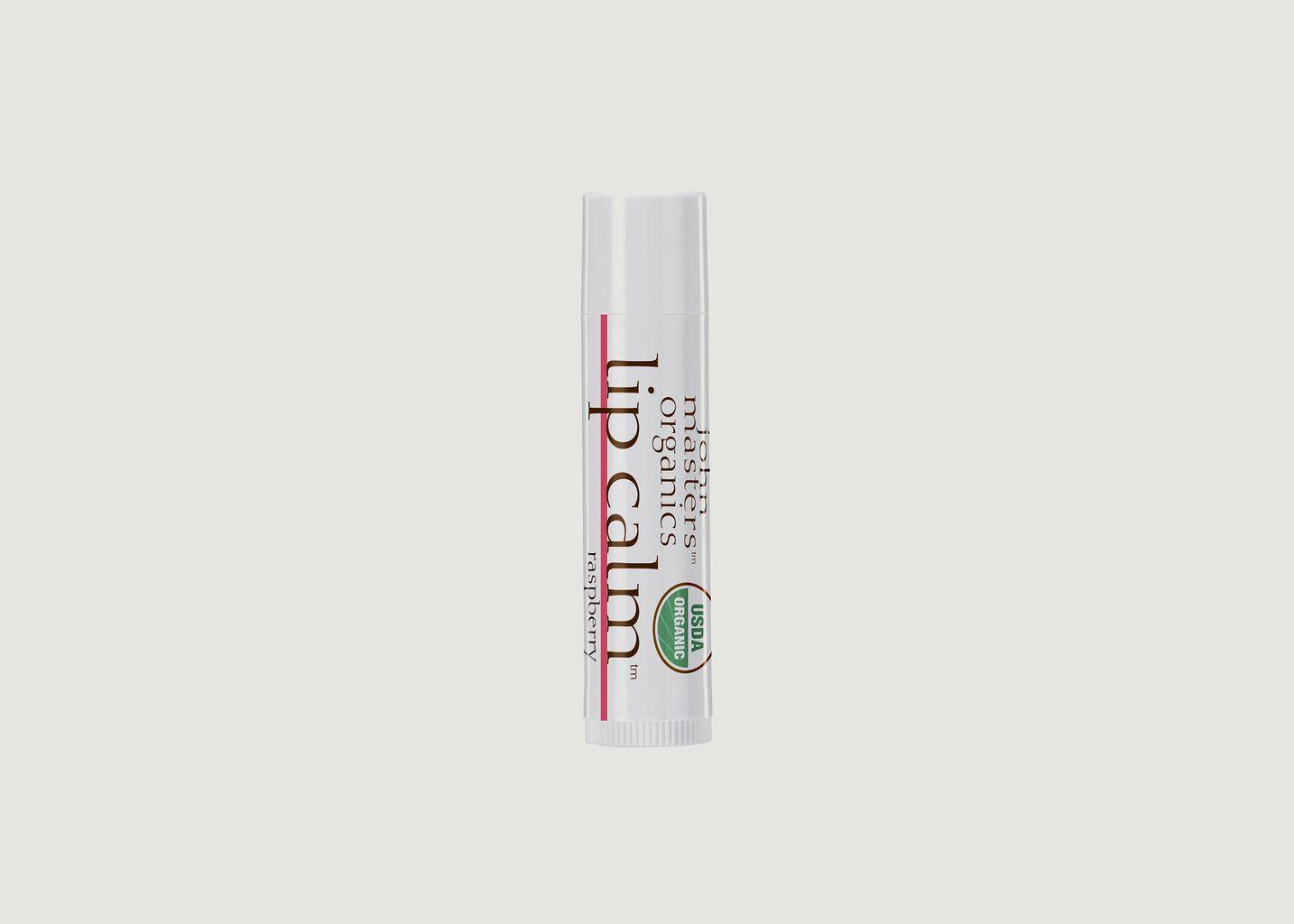 Baume à lèvres à la framboise - John Masters Organics
