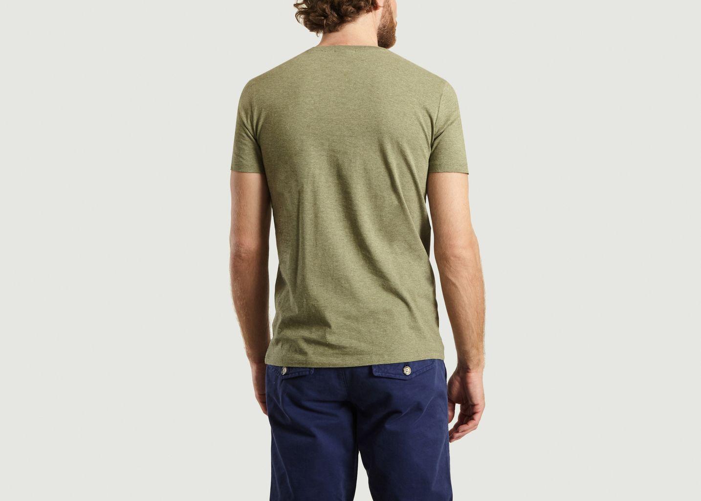 T-Shirt En Coton Bio Brodé Mimosa - Johnny Romance