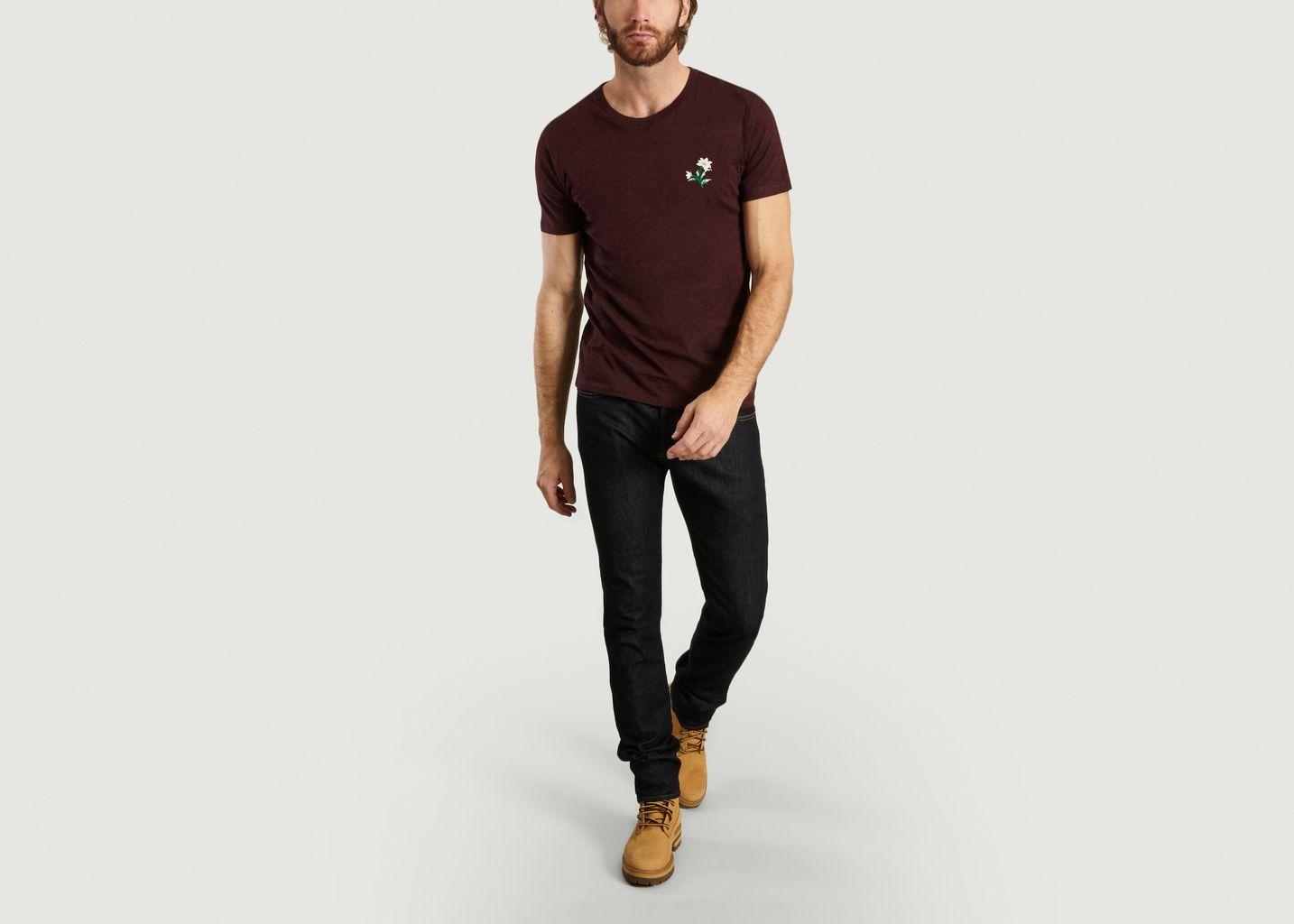 T-Shirt Edelweiss en Coton Biologique - Johnny Romance