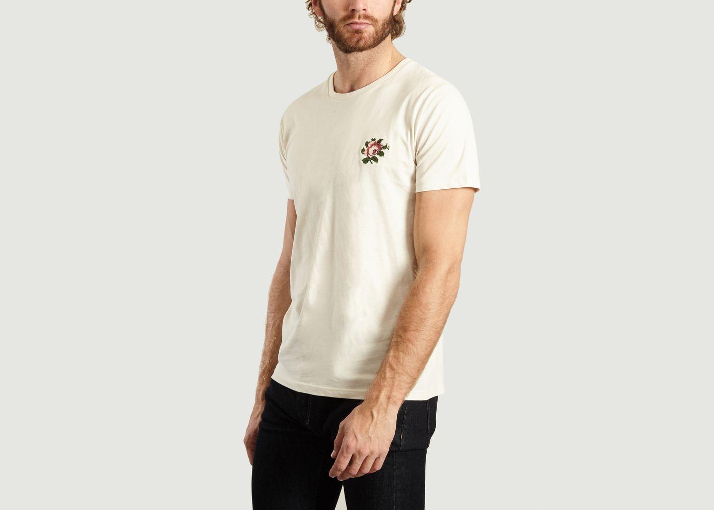 T-Shirt Rose en Coton Biologique - Johnny Romance