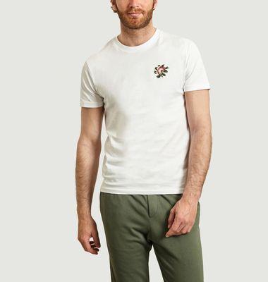 T-Shirt Fleur Brodée